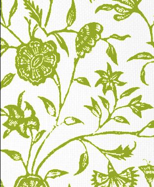 Tillett Textiles Balinese Dark Lime