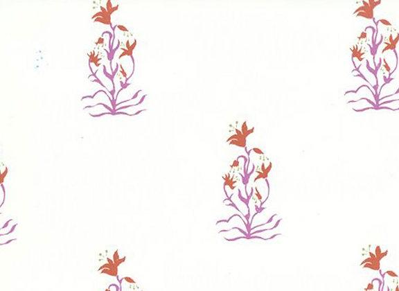 Mally Skok Mewar Wallpaper Pink Orange