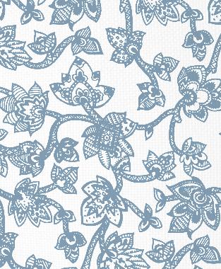 Tillett Textiles Sumatra JD Blue