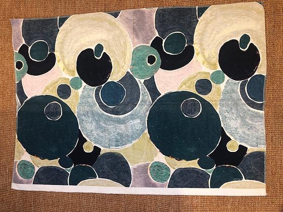 Circle Linen Fabric