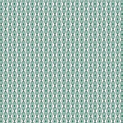 IKAT MICRO Emerald Oyster Linen
