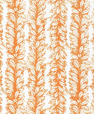 Tillett Textiles Leaves a Scrollin Carrot