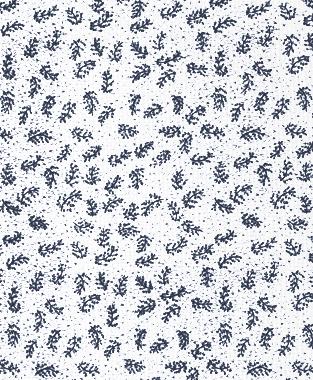 Tillett Textiles Twigs Navy