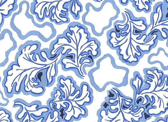Mally Skok Brimfield Wallpaper Delft Blue