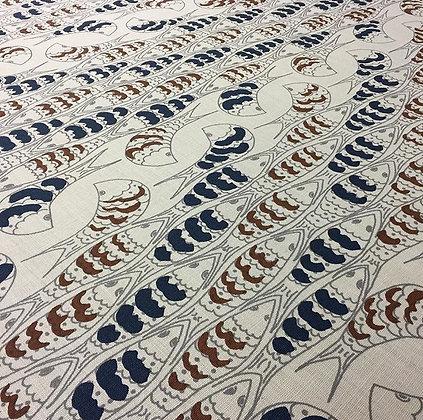 Tillett TextilesPuzzlefish Cinnamon