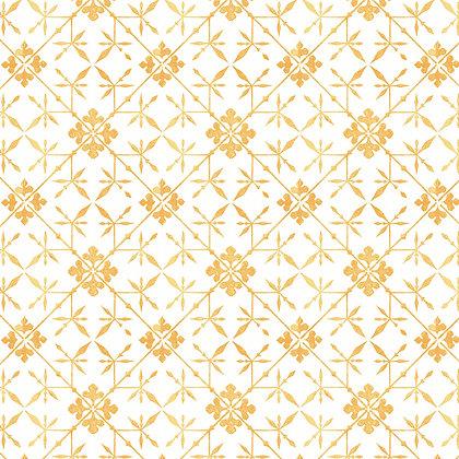 Antique Tile Marigold