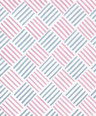 Tillett Textiles Baby Bold Pink Pansey & JD Blue