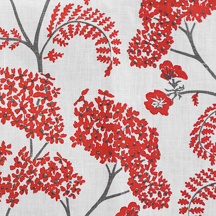 Madder Cutch & Co Achillea Madder & Slate on White