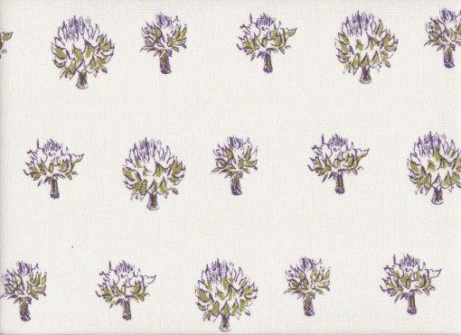 Mally Skok Dried Artichoke Violet-Peridot