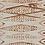 Thumbnail: ZIG ZAG MINI Chestnut UK Natural Linen