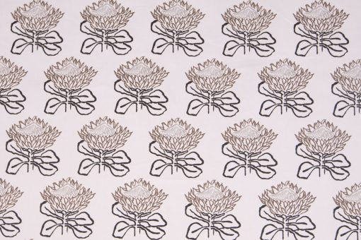 Mally Skok King Protea Charcoal