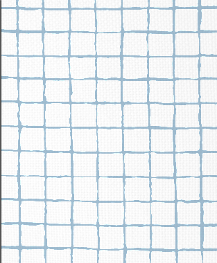 Tillett Textiles Grid Alert Sky