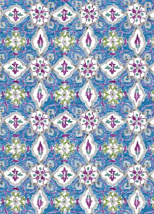 Ferran Textiles Amos Sapphire