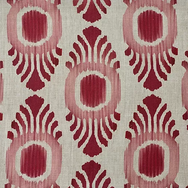 Ikat Mini Pink & Red Natural