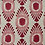 Thumbnail: IKAT MINI Pink & Red UK Natural Linen