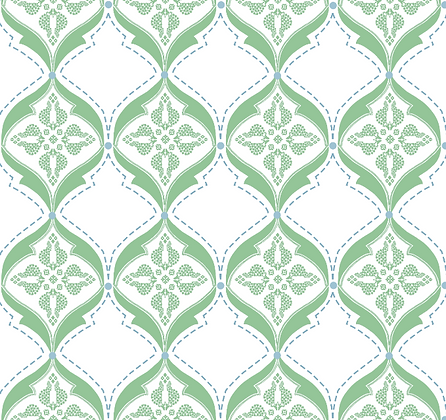 Behl Designs Calio Forest Green Emb