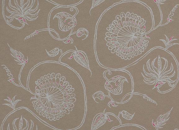 Mally Skok Jessie White on Natural Wallpaper