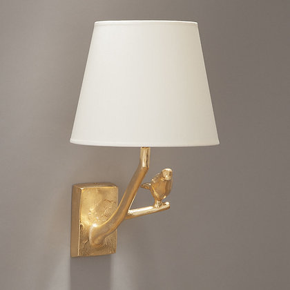 Feather wall lamp Gold