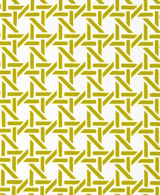 Tillett Textiles Cane Charteuse