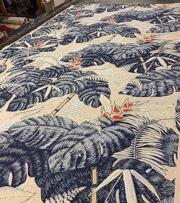 Tillett Textiles Tropical Floral Flag