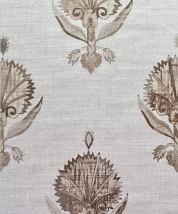 KARANFIL Mocha UK Natural Linen