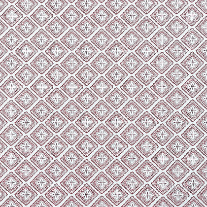 CASA BY P.C. AZZAR CORAL ON WHITE WALLPAPER
