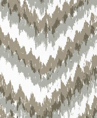 Tillett Textiles Ikat Timer Putty & Sea Haze