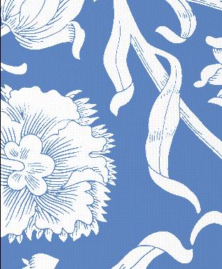 Tillett Textiles Alexandria Blue Lapis