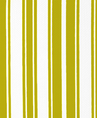 Tillett Textiles Evergreen Stripe Charteuse