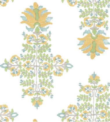 Ferran Textiles Lotus Blossom Marigold