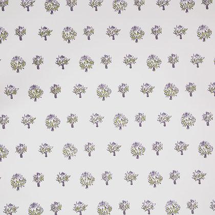 Mally Skok Dried Artichoke Wallpaper Violet-Peridot