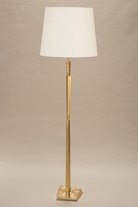 Gold Floor Lamp Cubist