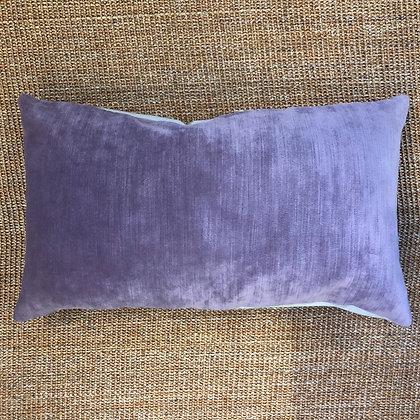Purple Velvet Cushion