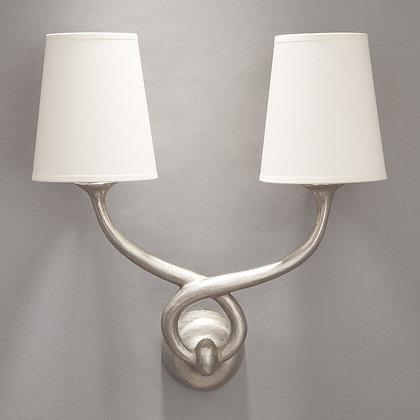 Aladin wall lamp Nickle