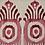 Thumbnail: SERENA IKAT Berry Oyster Linen