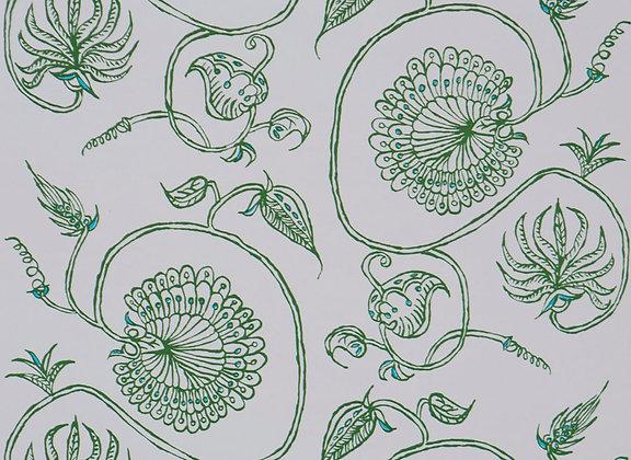 Mally Skok Jessie Emerald Wallpaper