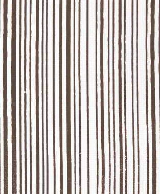 Tillett Textiles Mini Stripe Cocoa