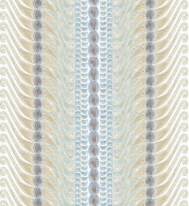 Ferran Textiles Corfu Ecru