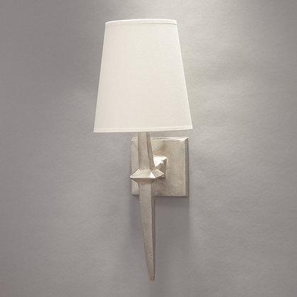 Adam wall lamp Nickle