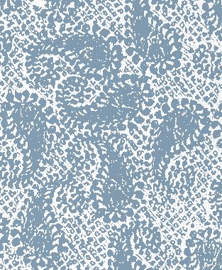 Tillett Textiles Paisley Patch JD Blue