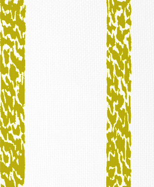 Tillett Textiles Ocelot Stripe Charteuse