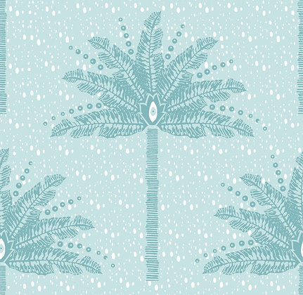 CASA BY P.C. Palm Tree in Sea Glass