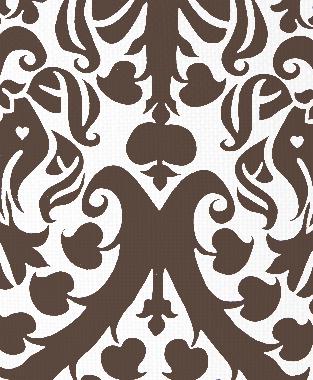 Tillett Textiles Millerton Damask Cocoa