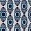 Thumbnail: IKAT MINI Indigo Oyster Linen