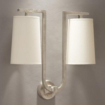 Gustave wall lamp Nickle