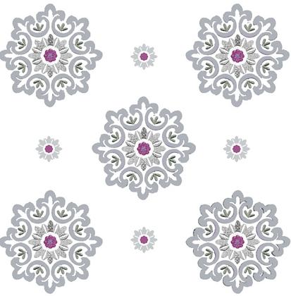 Behl Designs Jaipur Vintage Violet Emb