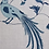 Thumbnail: BIRD SONG Blue UK Natural Linen