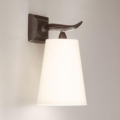 Fuso wall lamp Bronze
