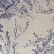 Pompadour Toile Pitch Blue