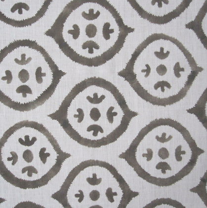 Plumwich New Ikat taupe